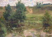 Vasily POLENOV. A Small Pond. 1886