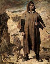 Henri REGNAULT. Castilian Mountain-Shepherd. 1868