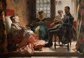 Domenico MORELLI. Torquato Tasso Reading Jerusalem Delivered to Eleonora d'Este. 1865