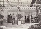 Philip Henry DELAMOTTE. Alhambra Court, the Crystal Palace, Sydenham. 1854
