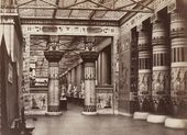 Philip Henry DELAMOTTE. Egyptian Court, the Crystal Palace, Sydenham. Mid-19th century