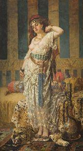 Pantaleon Józef SZYNDLER. Odalisque. 1876