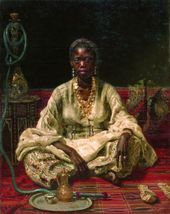 Ilya REPIN. Portrait of a Negress. 1875–1876