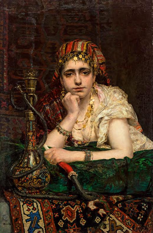 Vasily POLENOV. Odalisque. 1875