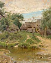 Vasily POLENOV. Turgenevo Village Study. 1885. Этюд