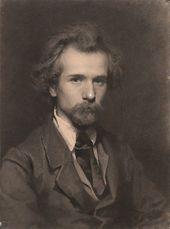 Ivan KRAMSKOI. Portrait of the Artist Pavel Chistyakov. 1860