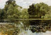Isaak LEVITAN. Overgrown Pond. 1887