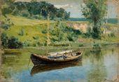 Vasily POLENOV. A Boat. 1880