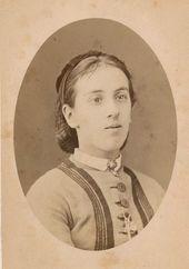 Yekaterina Obolenskaya-Mordvinova (Botkina). Early 1870s