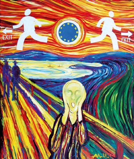 Igor NOVIKOV. The Scream of Europe. 2008