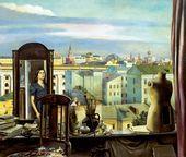 Tatyana NAZARENKO. The Large Window. 1985
