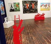 """Igor Novikov's """"Life as a Metaphor"""" exhibition"""