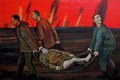 Tatyana NAZARENKO. The Sky Is on Fire. 2014