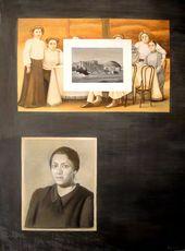"Tatyana NAZARENKO. ""Family Album"" series. Fifth Page of the Album. 2010"