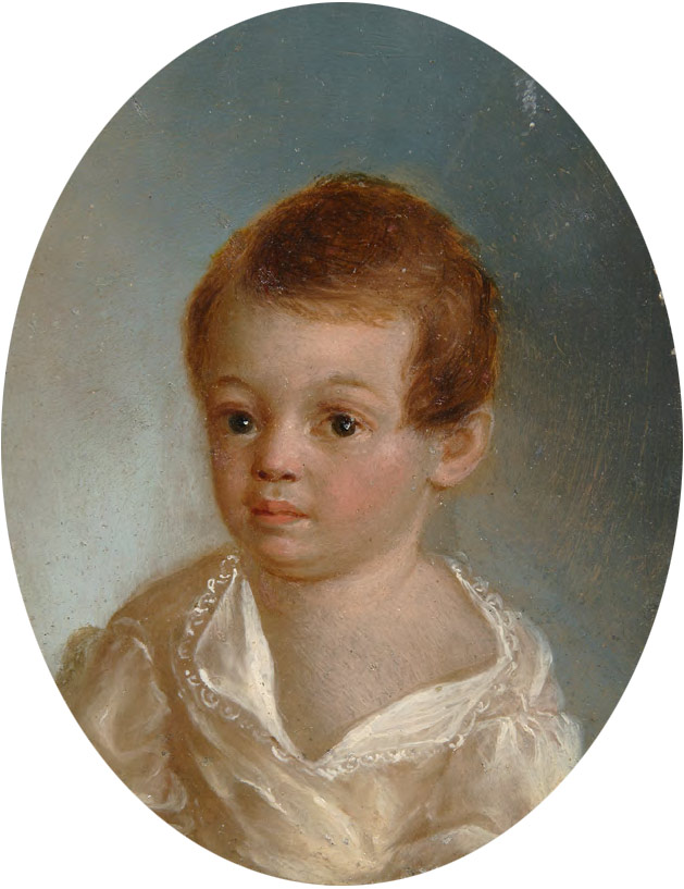 Xavier DE MAISTRE. Pushkin as a Young Child. 1801–1803