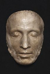 Samuil GALBERG. Death Mask of Alexander Pushkin. 1837