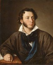 Vasily TROPININ. Portrait of Alexander Pushkin. 1827