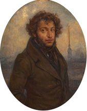 Alexei PLATUNOV. Alexander Pushkin. 1938