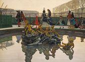 Alexandre BENOIS. A King Walking. 1906