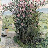 Alexander GOLOVIN. Umbrian Valley. 1910s
