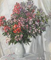 Alexander GOLOVIN. Phloxes. 1911