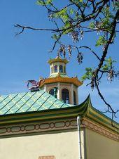 The Chinese Village at Tsarskoye Selo