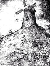 "Igor Smirnov. Mountain. 1998. From the series ""All About Don Quixote"""