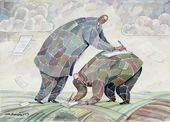 Igor Smirnov. Two Men: Together. 2004