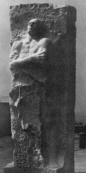 Vladimir TSIGAL. Monument to the Hero of the Soviet Union Lieutenant General Dmitry Karbyshev. 1961