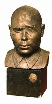 Vera MUKHINA. Portrait of Hero of the Soviet Union Colonel B.A. Yusupov. 1942