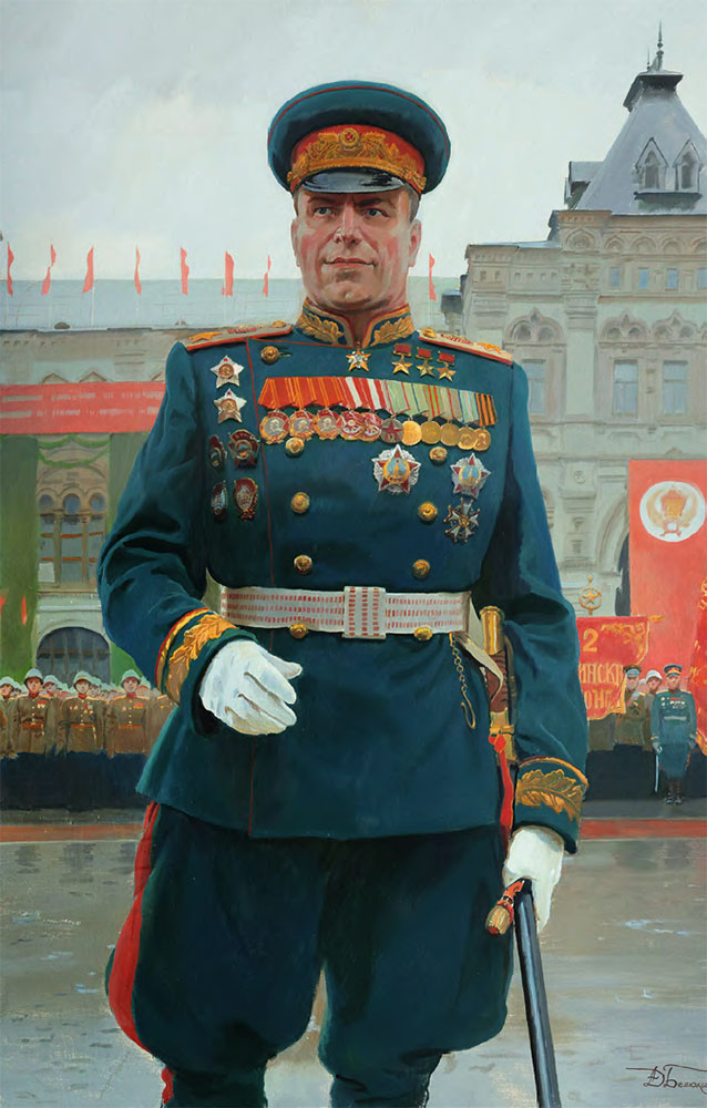 Dmitry BELYUKIN. Georgy Zhukov. 2015