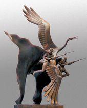 Yelena BEZBORODOVA. They Turned into White Cranes. 2005