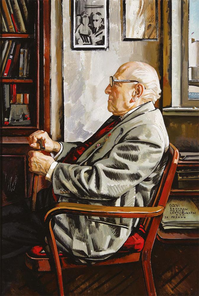 Tair SALAKHOV. The Artist Boris Yefimov. 2006