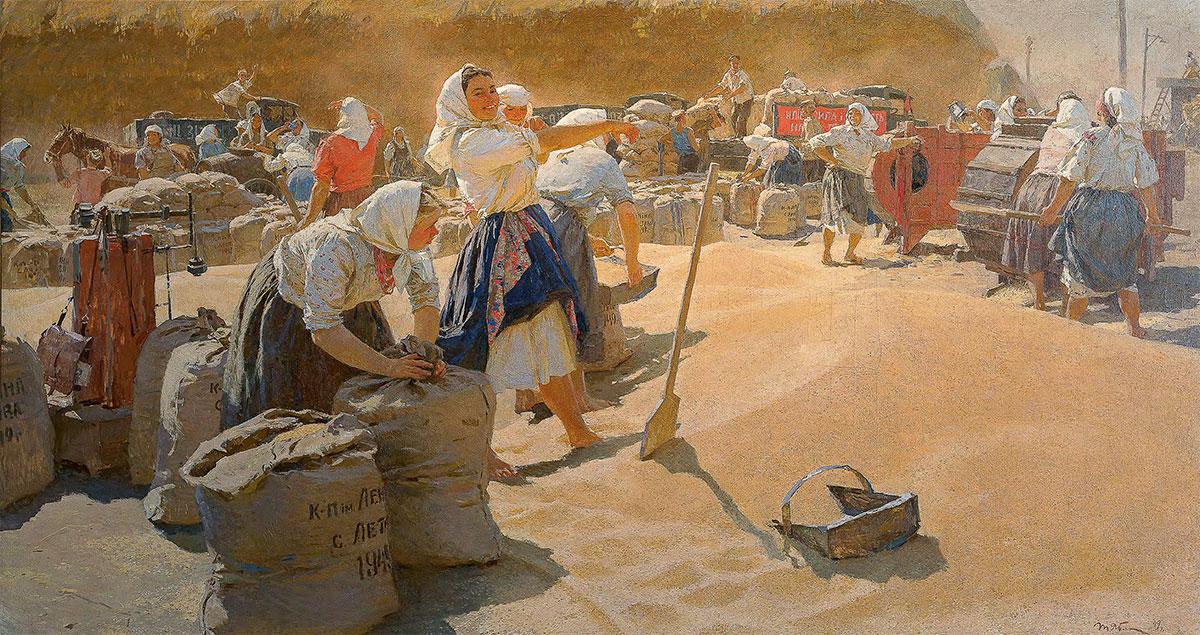 Tatiana YABLONSKAYA. Grain. 1949