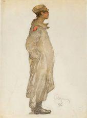 Alexander VAKHRAMEYEV. Soldier. 1917