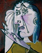 Pablo PICASSO. Weeping Woman. 1937