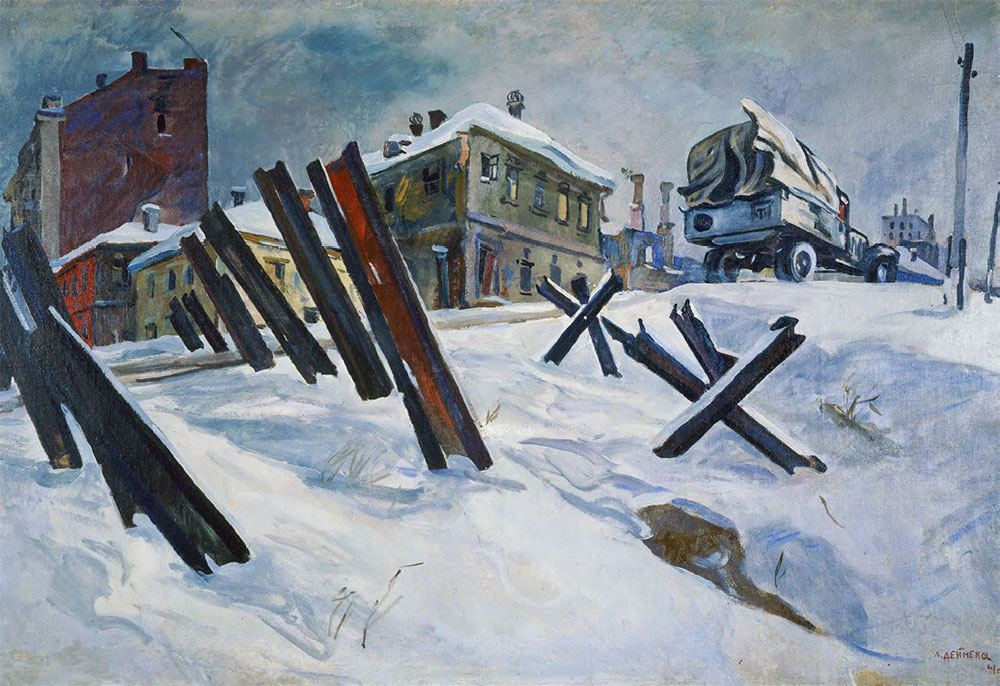 Аlexander DEINEKA. The Outskirts of Moscow. November, 1941. 1941