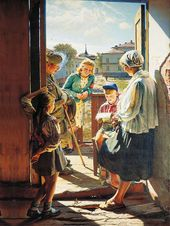 Alexander LAKTIONOV. Letter from the Front. 1947