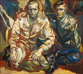 Viktor KALININ. Father and Son. The Year 1945. 2005