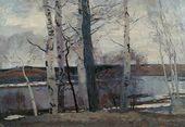 Sergei GERASIMOV. The Ice Drifted Away. 1945
