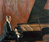 Pavel KORIN. Portrait of Konstantin Igumnov. 1941–1943