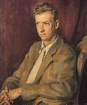 Henry LAMB. Portrait of Benjamin Britten. 1945