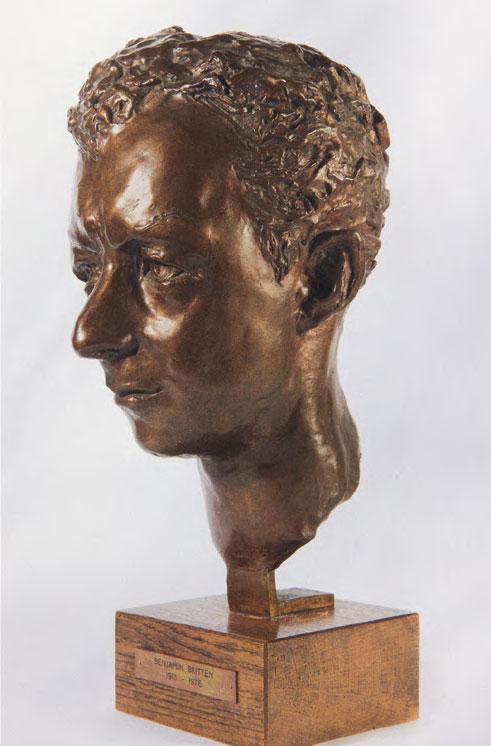 Georg EHRLICH. Benjamin Britten. 1966