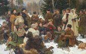 Yury NEPRINTSEV. A Break after Battle. 1955