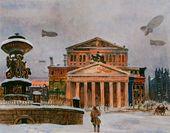 Alexander DEINEKA. Sverdlov Square. December 1941