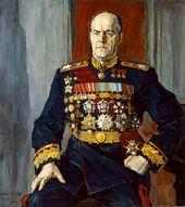 Pavel KORIN. Portrait of Georgy Zhukov. 1945