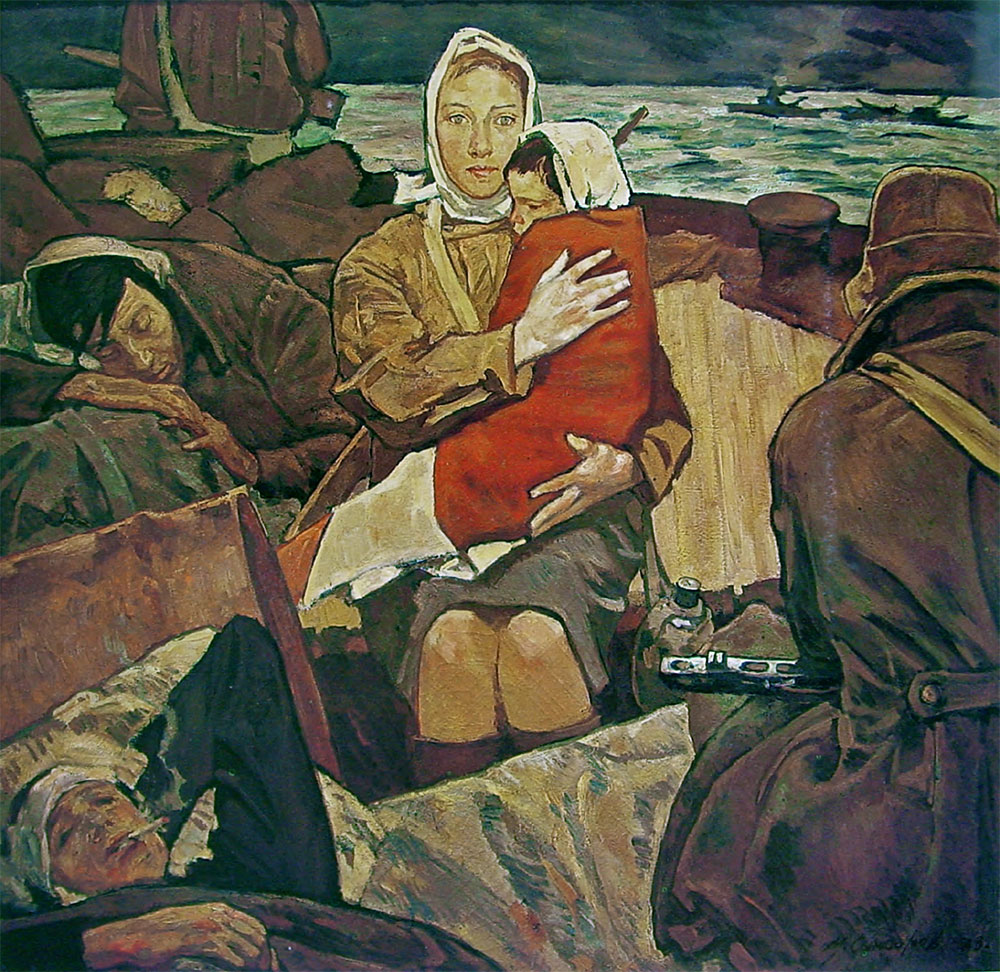 Marat SAMSONOV. Paths of War. 1973