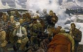 Marat SAMSONOV. Fighting for the Fatherland. 1987