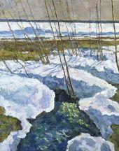 Yefrem Zverkov. Spring Brook
