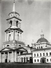 The Transfiguration Cathedral, later the building of the Perm Art Gallery. Early 20th century